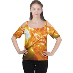 SOLAR FLARE 2 Women s Cutout Shoulder Tee