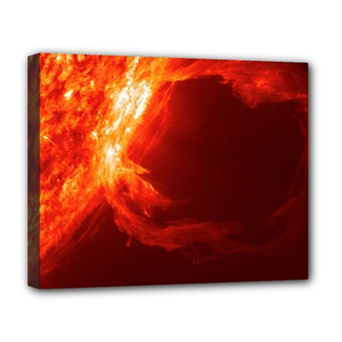 SOLAR FLARE 1 Deluxe Canvas 20  x 16