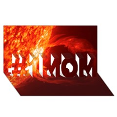SOLAR FLARE 1 #1 MOM 3D Greeting Cards (8x4)