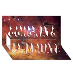 Skull & Crossbones Congrats Graduate 3d Greeting Card (8x4)