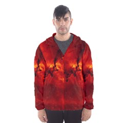 Rosette Nebula 2 Hooded Wind Breaker (men)