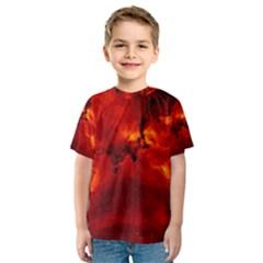 Rosette Nebula 2 Kid s Sport Mesh Tees