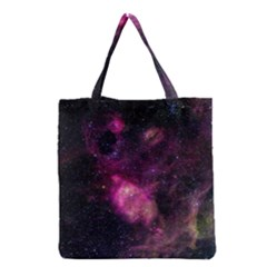 Purple Clouds Grocery Tote Bags