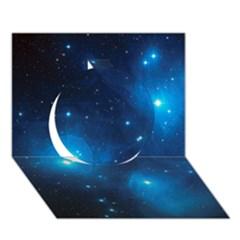 Pleiades Circle 3d Greeting Card (7x5)