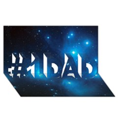 PLEIADES #1 DAD 3D Greeting Card (8x4)
