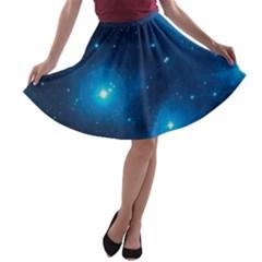 PLEIADES A-line Skater Skirt