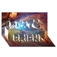 ORION NEBULA Best Friends 3D Greeting Card (8x4)