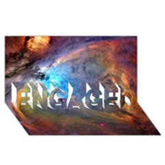 Orion Nebula Engaged 3d Greeting Card (8x4)