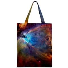 Orion Nebula Zipper Classic Tote Bags