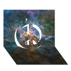 Mystic Mountain Peace Sign 3d Greeting Card (7x5)
