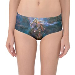 MYSTIC MOUNTAIN Mid-Waist Bikini Bottoms