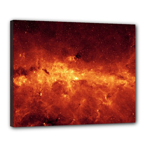 MILKY WAY CLOUDS Canvas 20  x 16
