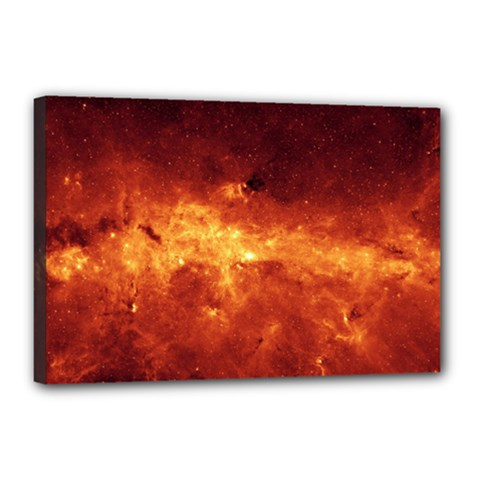 MILKY WAY CLOUDS Canvas 18  x 12