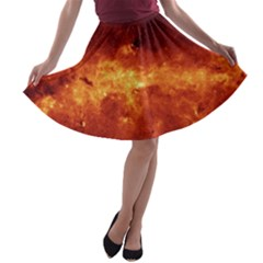 MILKY WAY CLOUDS A-line Skater Skirt