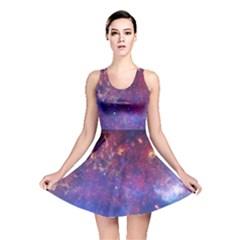 MILKY WAY CENTER Reversible Skater Dresses