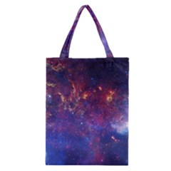 MILKY WAY CENTER Classic Tote Bags