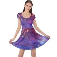 MILKY WAY CENTER Cap Sleeve Dresses