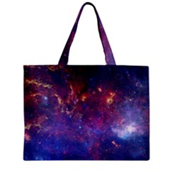 Milky Way Center Zipper Tiny Tote Bags