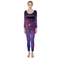 MILKY WAY CENTER Long Sleeve Catsuit