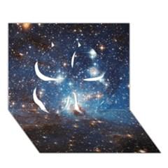 LH_95 Clover 3D Greeting Card (7x5)
