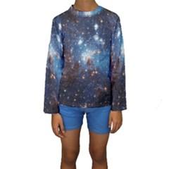 LH_95 Kid s Long Sleeve Swimwear
