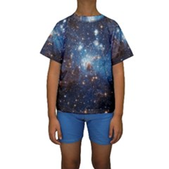 LH_95 Kid s Short Sleeve Swimwear