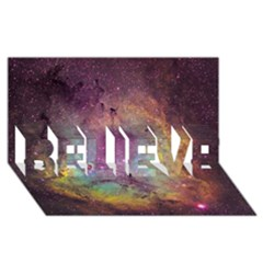 IC 1396 BELIEVE 3D Greeting Card (8x4)