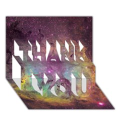 IC 1396 THANK YOU 3D Greeting Card (7x5)