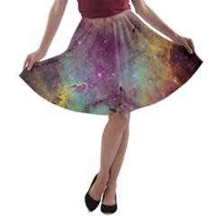 IC 1396 A-line Skater Skirt