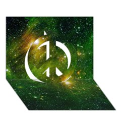 Hydrocarbons In Space Peace Sign 3d Greeting Card (7x5)