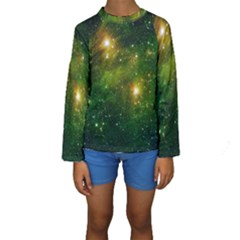 Hydrocarbons In Space Kid s Long Sleeve Swimwear