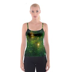 Hydrocarbons In Space Spaghetti Strap Tops