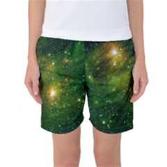 Hydrocarbons In Space Women s Basketball Shorts