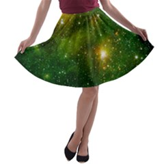 HYDROCARBONS IN SPACE A-line Skater Skirt