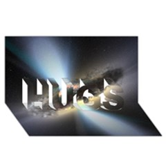 Hidden Black Hole Hugs 3d Greeting Card (8x4)