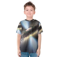 HIDDEN BLACK HOLE Kid s Cotton Tee