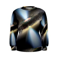 HIDDEN BLACK HOLE Women s Sweatshirts