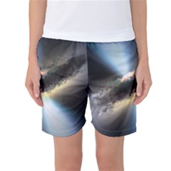 HIDDEN BLACK HOLE Women s Basketball Shorts