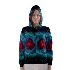HELIX NEBULA Hooded Wind Breaker (Women)