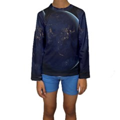 Global Night Kid s Long Sleeve Swimwear