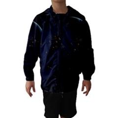 Global Night Hooded Wind Breaker (kids)