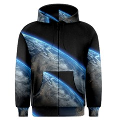 EARTH ORBIT Men s Zipper Hoodies