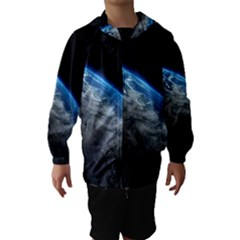 EARTH ORBIT Hooded Wind Breaker (Kids)