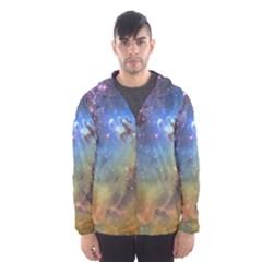 Eagle Nebula Hooded Wind Breaker (men)