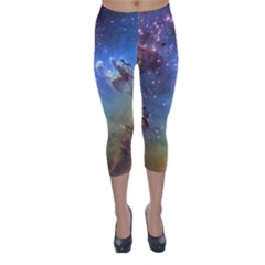 EAGLE NEBULA Capri Winter Leggings