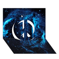 Cygnus Loop Peace Sign 3d Greeting Card (7x5)