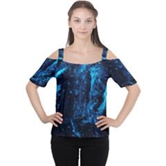 Cygnus Loop Women s Cutout Shoulder Tee