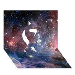 Carina Nebula Ribbon 3d Greeting Card (7x5)