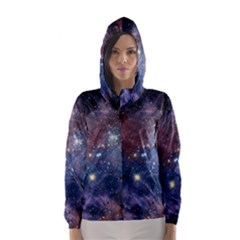 CARINA NEBULA Hooded Wind Breaker (Women)