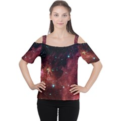 BARNARD 30 Women s Cutout Shoulder Tee